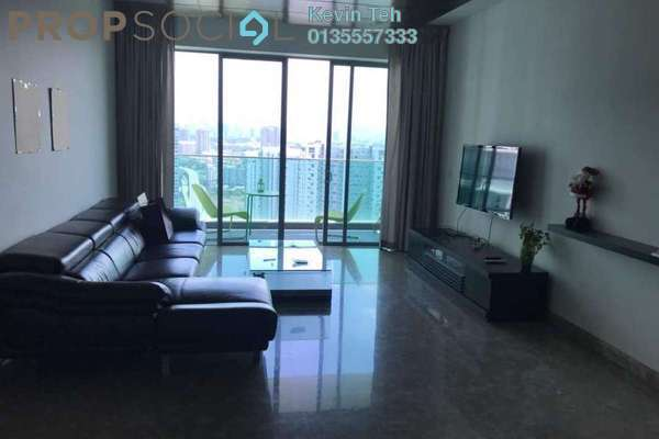 For Rent Condominium at Kiaramas Danai, Mont Kiara Freehold Fully Furnished 3R/4B 7k