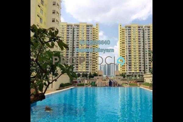 For Sale Condominium at Platinum Lake PV13, Setapak Freehold Semi Furnished 4R/2B 580k
