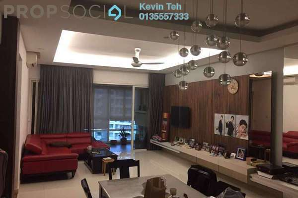 For Sale Condominium at Kiaraville, Mont Kiara Freehold Semi Furnished 3R/3B 1.48m