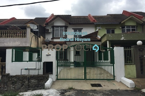 For Rent Terrace at Taman Bukit Angsana, Cheras South Freehold Semi Furnished 4R/3B 2k
