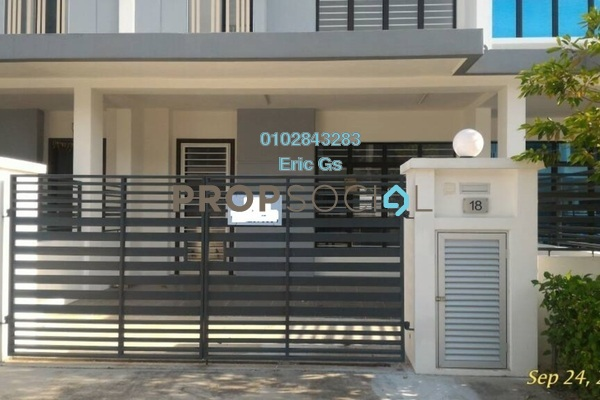 For Rent Terrace at M Residence, Rawang Freehold Unfurnished 4R/3B 1k