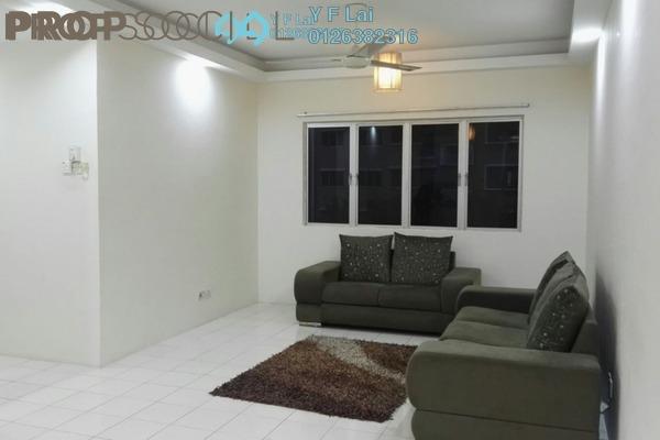 For Sale Condominium at Cengal Condominium, Bandar Sri Permaisuri Freehold Semi Furnished 2R/2B 398k