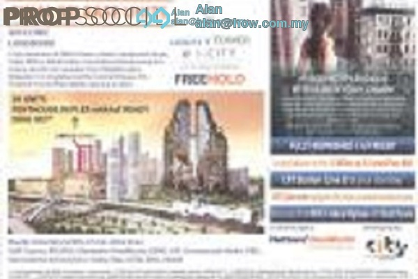 For Sale Condominium at i-City, Shah Alam Freehold Fully Furnished 2R/2B 580k