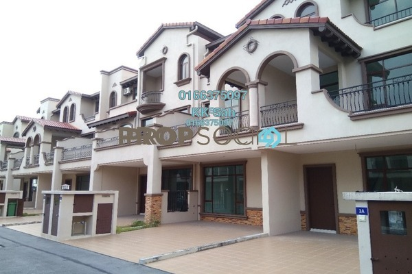 For Sale Terrace at Diamond City, Semenyih Freehold Unfurnished 3R/4B 728k