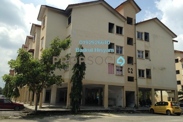 For Sale Apartment at Taman Langat Murni Apartment, Banting Freehold Unfurnished 3R/2B 135k