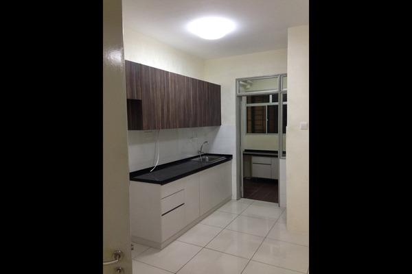 For Rent Condominium at Platinum Lake PV15, Setapak Freehold Semi Furnished 4R/2B 1.8k