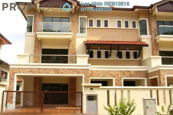 For Sale Terrace at The Peak, Cheras South Freehold Semi Furnished 5R/5B 1.35m