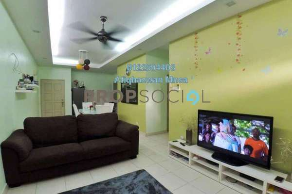 For Sale Condominium at KiPark Selayang, Selayang Freehold Semi Furnished 3R/2B 370k