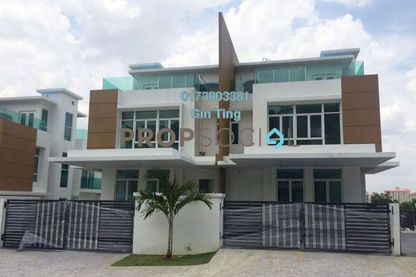 For Sale Semi-Detached at Duta Kinrara, Bandar Kinrara Freehold Semi Furnished 4R/7B 3.2m