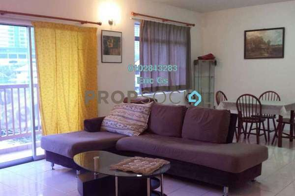 For Rent Apartment at Prima Ria, Dutamas Freehold Fully Furnished 3R/2B 1.8k