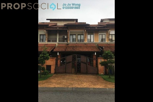 For Sale Terrace at Tropika, Bukit Jelutong Freehold Semi Furnished 6R/6B 1.19m