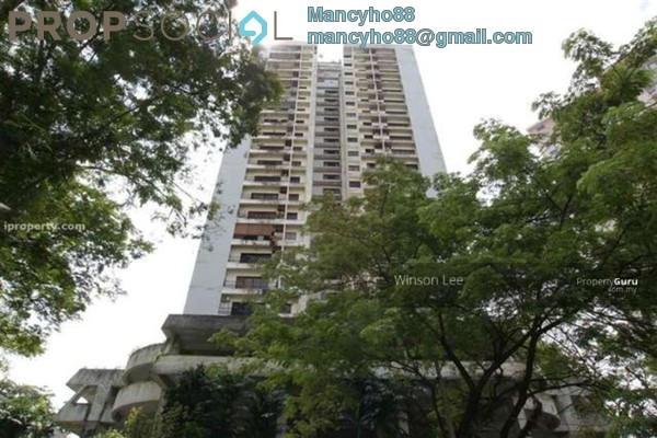 For Rent Condominium at Antah Tower, Dutamas Freehold Fully Furnished 1R/1B 1.2k