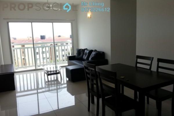 For Rent Condominium at Hijauan Kiara, Mont Kiara Freehold Semi Furnished 3R/2B 1.3k