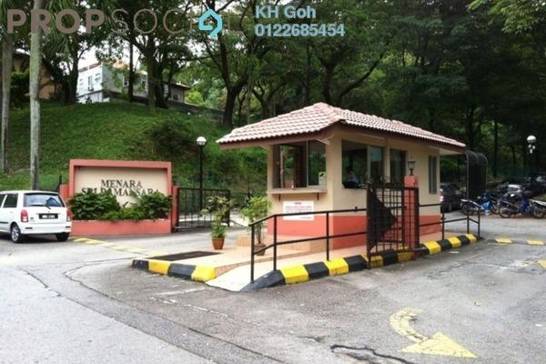 For Sale Condominium at Menara Sri Damansara, Bandar Sri Damansara Freehold Semi Furnished 3R/2B 460k