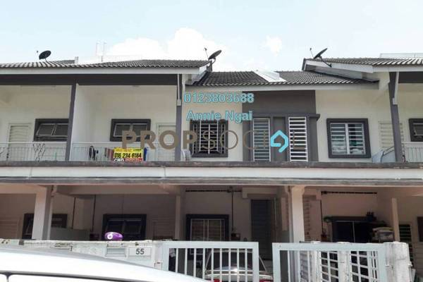 For Sale Townhouse at The Lake Residence, Puchong Freehold Fully Furnished 3R/2B 430k