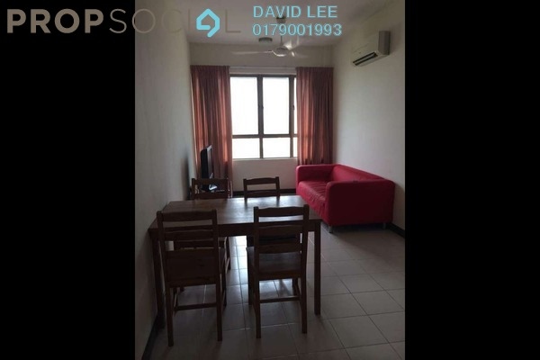 For Rent Serviced Residence at Ritze Perdana 1, Damansara Perdana Freehold Semi Furnished 1R/1B 1.6k