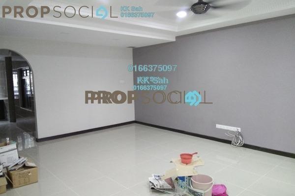 For Sale Link at Section 8, Bandar Mahkota Cheras Freehold Semi Furnished 5R/3B 818k