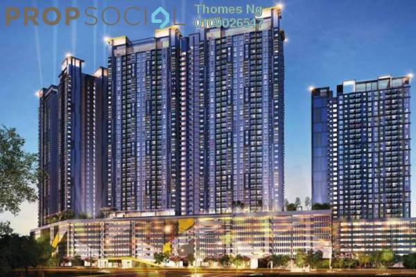For Sale Condominium at PV18 Residence, Setapak Freehold Unfurnished 3R/3B 410k