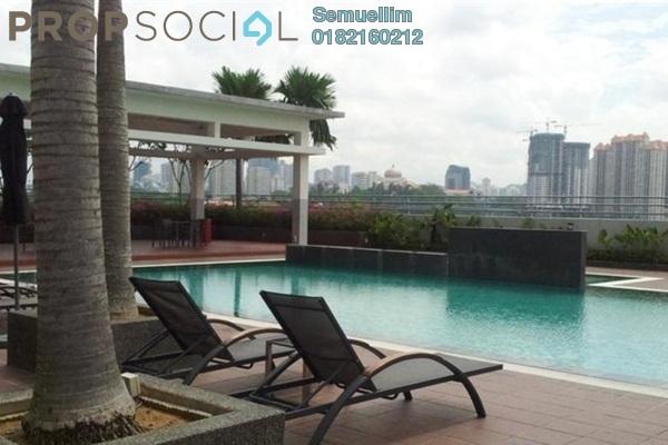 For Rent Condominium at Viva Residency, Sentul Freehold Semi Furnished 3R/2B 1.6k