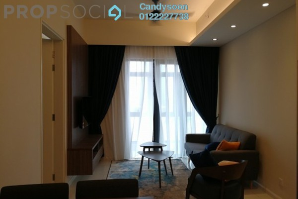 For Rent Serviced Residence at Tribeca, Bukit Bintang Freehold Fully Furnished 0R/1B 3k