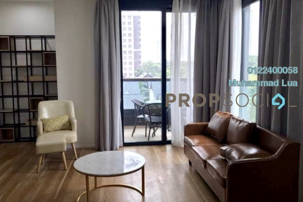 For Rent Serviced Residence at Arcoris, Mont Kiara Freehold Fully Furnished 2R/2B 5k
