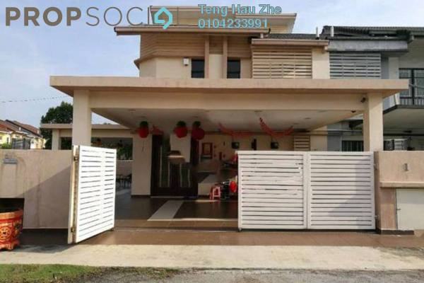 For Sale Terrace at Jade, Bandar Bukit Raja Freehold Fully Furnished 5R/4B 1.3m