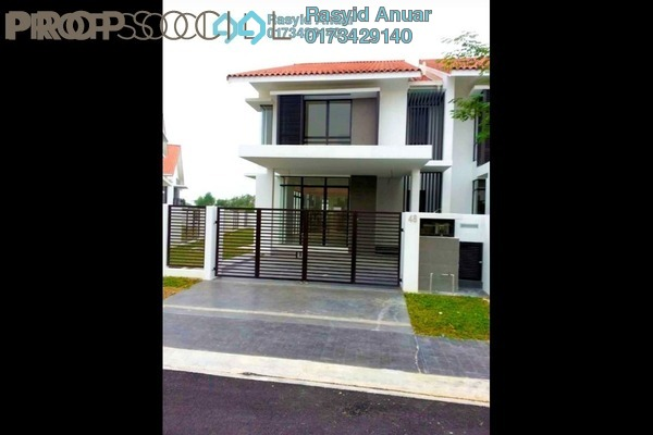 For Sale Terrace at Pentas, Alam Impian Freehold Semi Furnished 5R/5B 1.2m