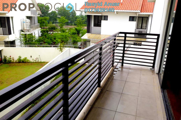For Rent Superlink at Pentas, Alam Impian Freehold Semi Furnished 5R/5B 2.5k
