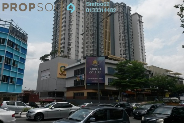 For Rent Condominium at Viva Residency, Sentul Freehold Semi Furnished 2R/2B 1.6k