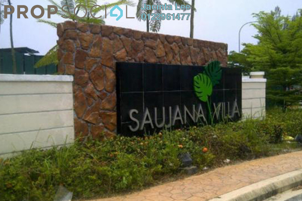 For Sale Semi-Detached at Saujana Villa, Kajang Freehold Semi Furnished 5R/5B 800k
