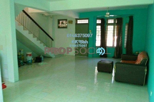 For Sale Link at Bandar Armada Putra, Port Klang Leasehold Semi Furnished 3R/3B 278k