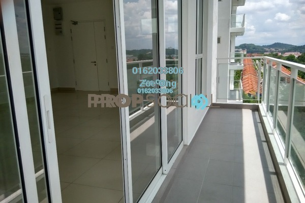 For Sale Condominium at Duet Residence, Bandar Kinrara Freehold Semi Furnished 3R/2B 630k