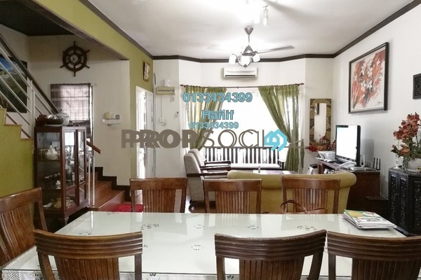 For Sale Terrace at Taman Dagang, Ampang Leasehold Semi Furnished 4R/3B 1.1m
