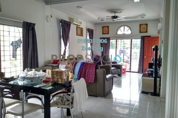 For Sale Terrace at Section 4, Kota Damansara Freehold Semi Furnished 3R/2B 920k