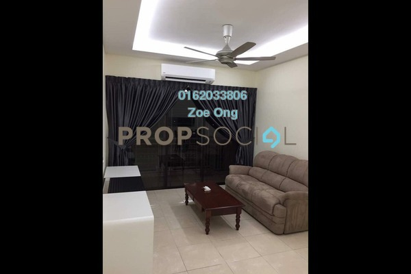 For Rent Condominium at Casa Indah 1, Tropicana Freehold Fully Furnished 3R/3B 2.35k