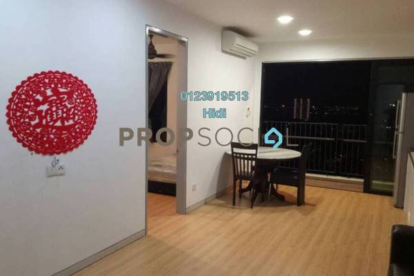 For Rent Condominium at Epic Residence, Bandar Bukit Puchong Freehold Fully Furnished 1R/2B 1.5k