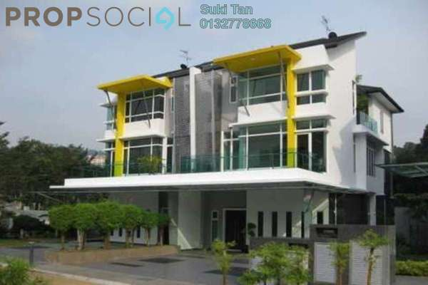 For Rent Semi-Detached at Laman Damaisari, Segambut Freehold Semi Furnished 5R/6B 7k