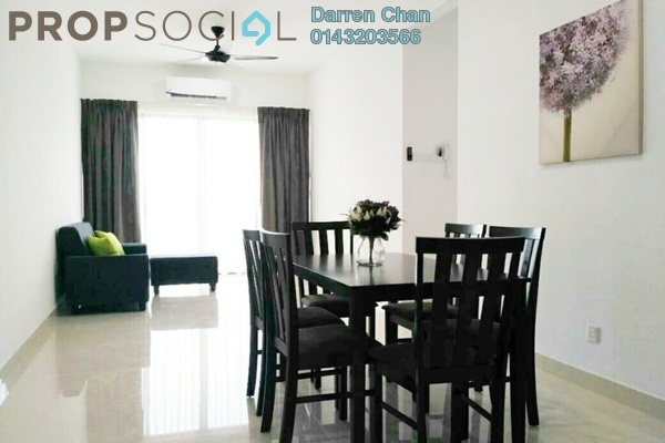 For Rent Condominium at Damai Hillpark, Bandar Damai Perdana Freehold Fully Furnished 3R/2B 1.9k