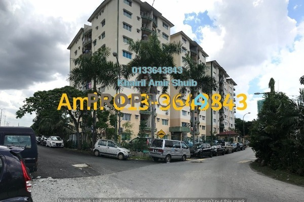 For Sale Apartment at Taman Nirwana, Ampang Freehold Semi Furnished 2R/2B 350k