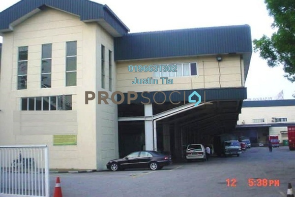 For Rent Factory at Section 13, Shah Alam Freehold Semi Furnished 0R/0B 139k