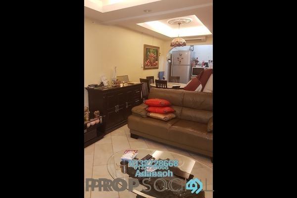 For Sale Terrace at Taman Sri Sinar, Segambut Freehold Semi Furnished 3R/2B 475k