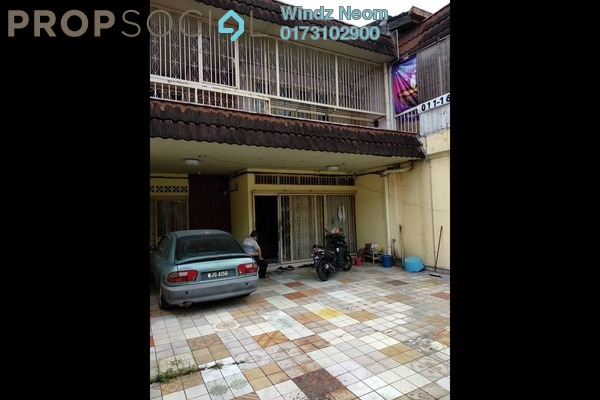 For Sale Terrace at Taman Sentul Jaya, Sentul Freehold Semi Furnished 5R/3B 990k