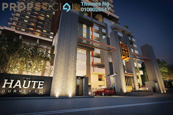 For Sale Condominium at The Haute, Keramat Freehold Unfurnished 3R/2B 500k
