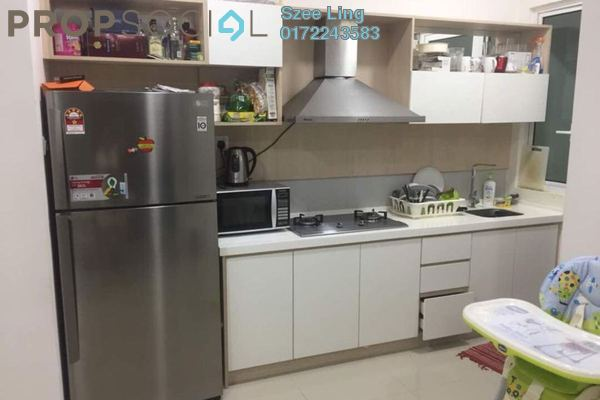 For Sale Condominium at Scenaria, Segambut Freehold Semi Furnished 4R/3B 740k