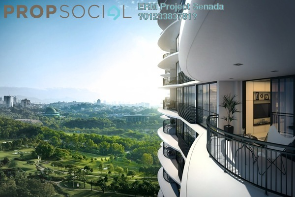 For Sale Serviced Residence at Senada Residences, Mont Kiara Freehold Unfurnished 1R/1B 979k