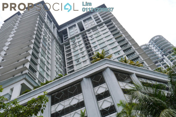 For Rent Condominium at Scott Sentral, Brickfields Freehold Fully Furnished 4R/3B 3.8k