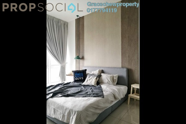 For Rent Serviced Residence at Twin Galaxy, Johor Bahru Freehold Fully Furnished 0R/1B 1.6k