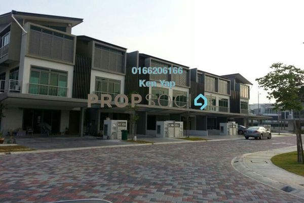For Sale Superlink at D'Island, Puchong Freehold Unfurnished 6R/6B 1.08m