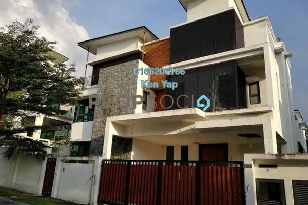 For Sale Bungalow at Gaia 16, Ukay Freehold Unfurnished 9R/9B 4.8m