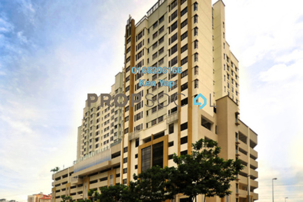 For Sale Condominium at Pelangi Damansara Sentral, Mutiara Damansara Freehold Fully Furnished 1R/1B 385k